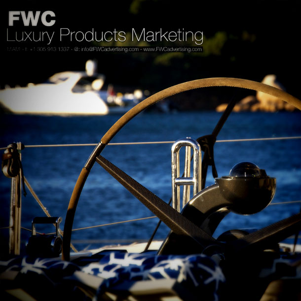 Magazine ad designed for FWC Luxury