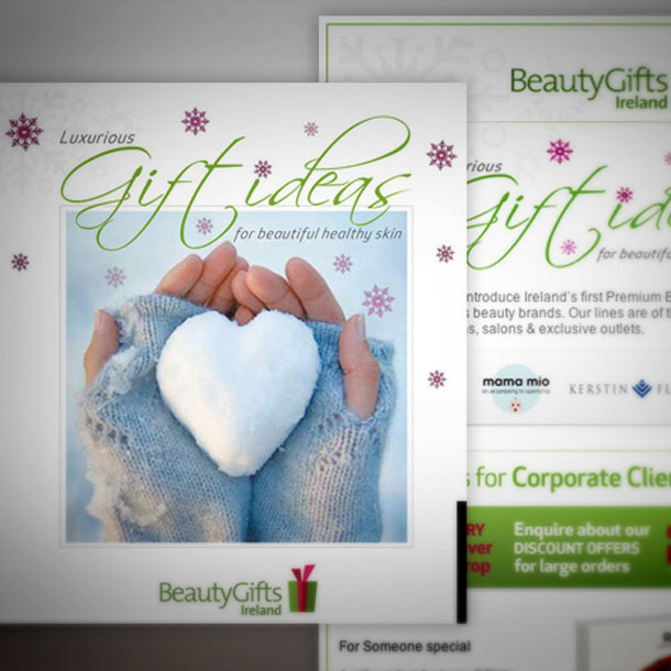 Graphic Design for Beauty Gift Ireland