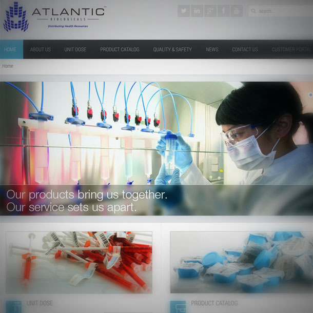 Medical Web Design 610