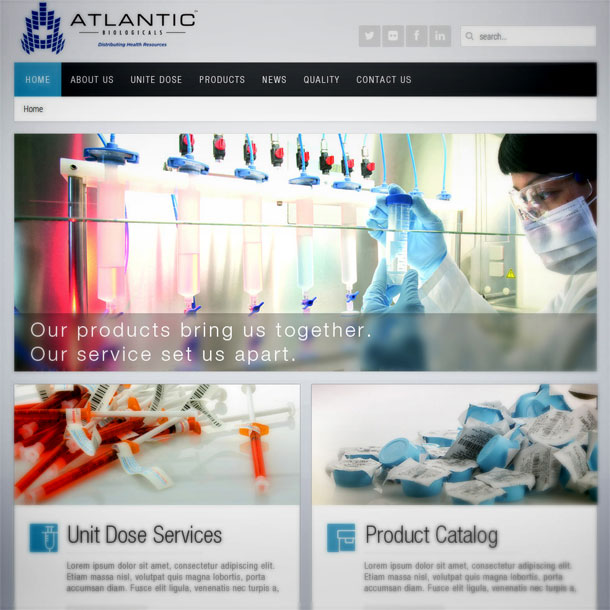 Web design 610-Atlantic
