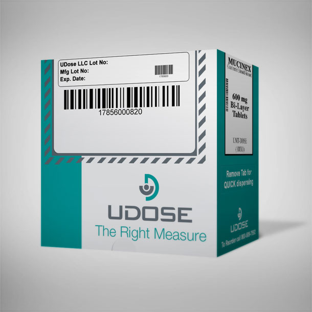 BTC Packaging Box Design for Udose