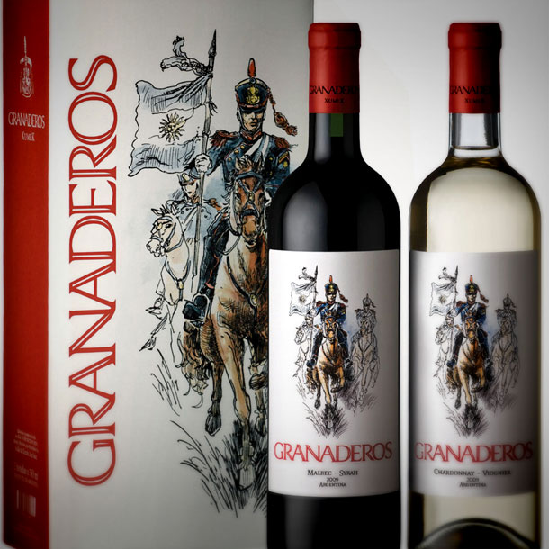 Packaging Box Design - Retail Wine Label Design
