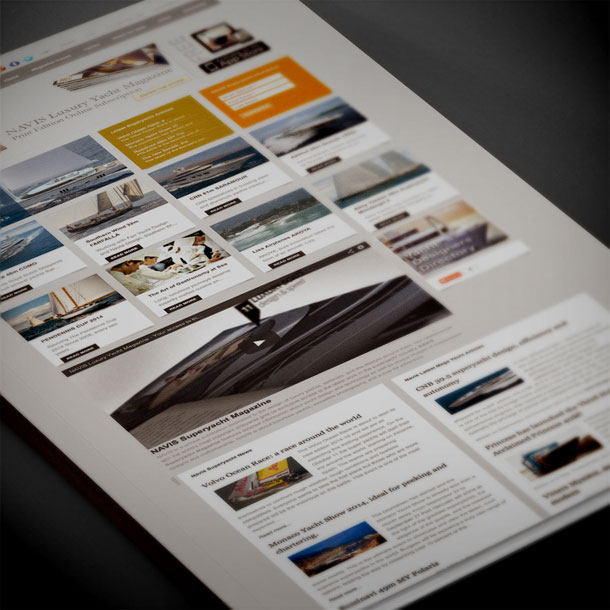 Editorials and Magazines Web Design